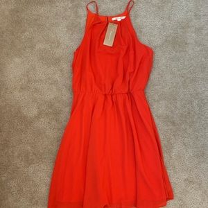 Red Cocktail Dress NWT